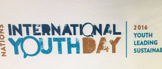 International Youth Day 2016: Youth Leading Sustainability