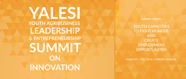 Youth Agribusiness, Leadership, and Entrepreneurship Summit on Innovation [YALESI 2016]