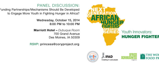 Next Generation of African Hunger Fighters at the World Food Prize 2014 Borlaug Dialogue